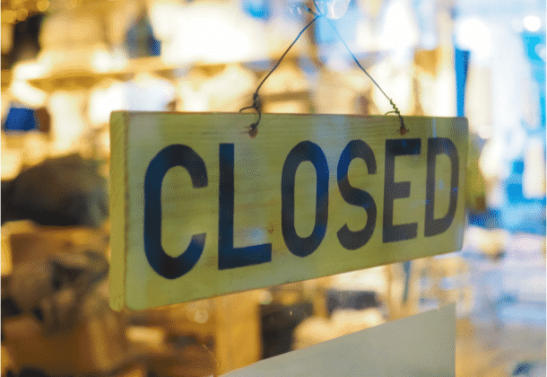 Companies Forced Out Of Business As A Result Of The 2021 Recession